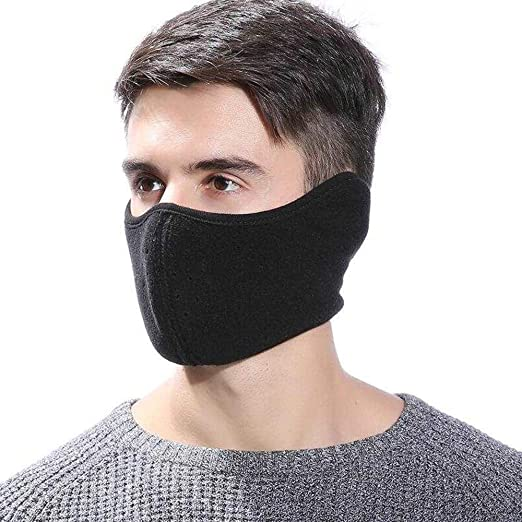 c69617c7550 TECHONG Mens Winter Warm Windproof Mask - Thick Dustproof Breathable ...