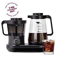 Deals on Dash DCBCM550BK Cold Brew Coffee Maker w/50-oz. Carafe