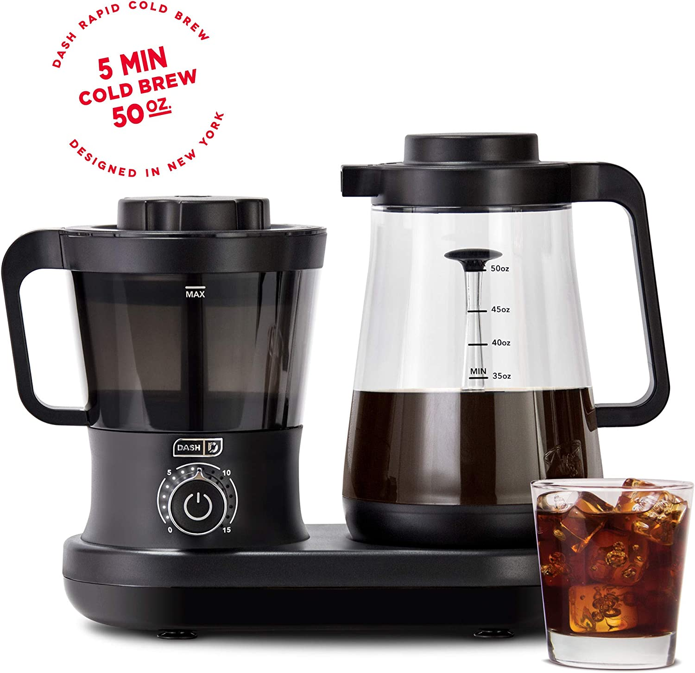 Dash 冷煮咖啡壶, 5分钟就做出一杯冷萃咖啡