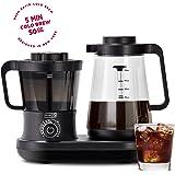 Dash Rapid Cold Brew Coffee Maker With Easy Pour Spout, 42 oz 1.5 L Carafe Pitcher, Black