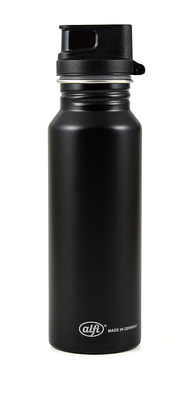 Alfi 5397.102.050 Trinkflasche, Edelstahl, Silber, 7,5 x 8,5 x 26 cm