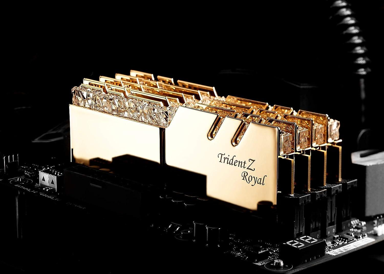 Memoria GSKILL DDR4 16GB PC3600 C18 TridZ Royal Kit DE 2 ...