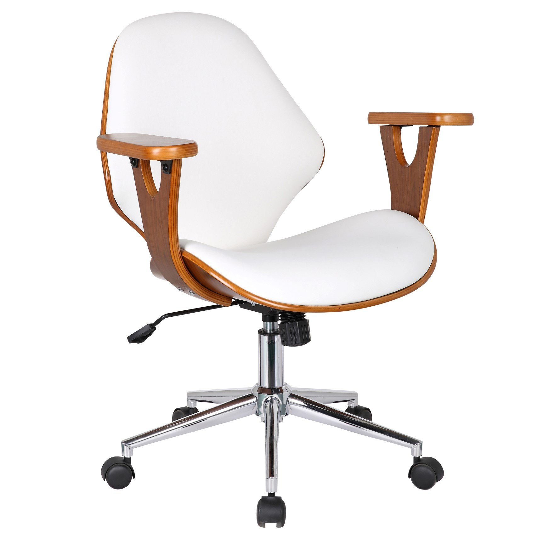 Porthos Home Lillian Adjustable Office Chair, White