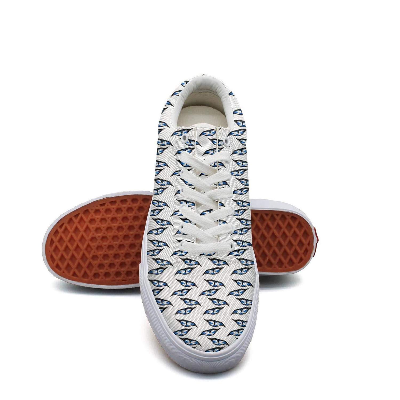 ERSER Evil Eye Symbol Bright Running Shoes Women