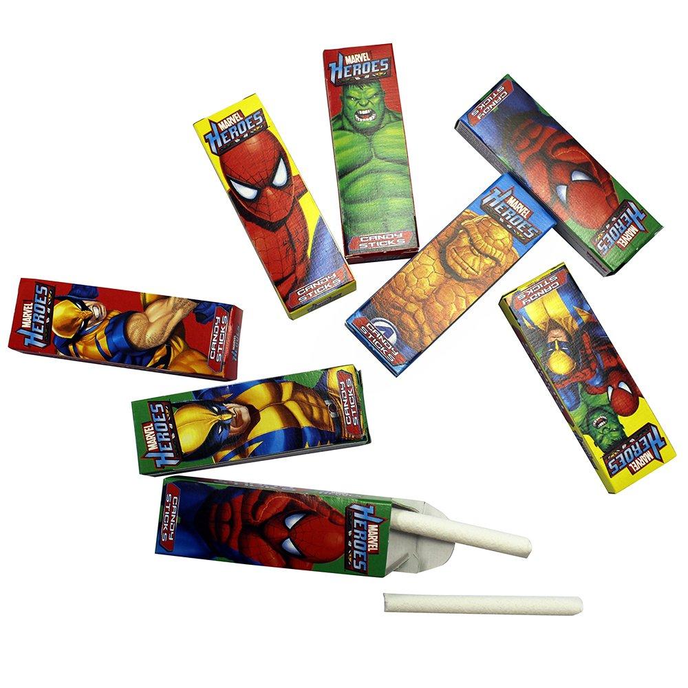 A Great Surprise Marvel héroes dulces palos de personajes ...
