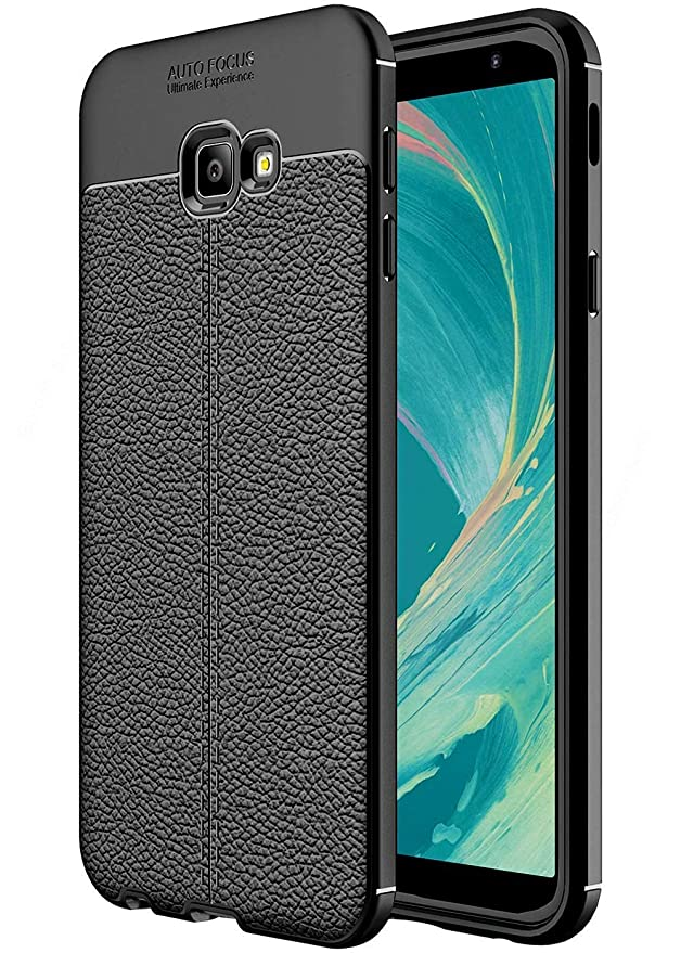 EDGEKART reg; Auto Focus Back Cover for Samsung Galaxy ON NXT  Black