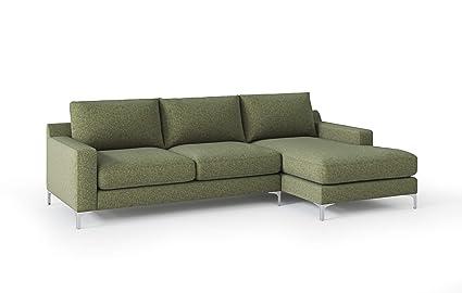 Brilliant Amazon Com Lounging Bear Bearington Deep Seat Sectional Pabps2019 Chair Design Images Pabps2019Com