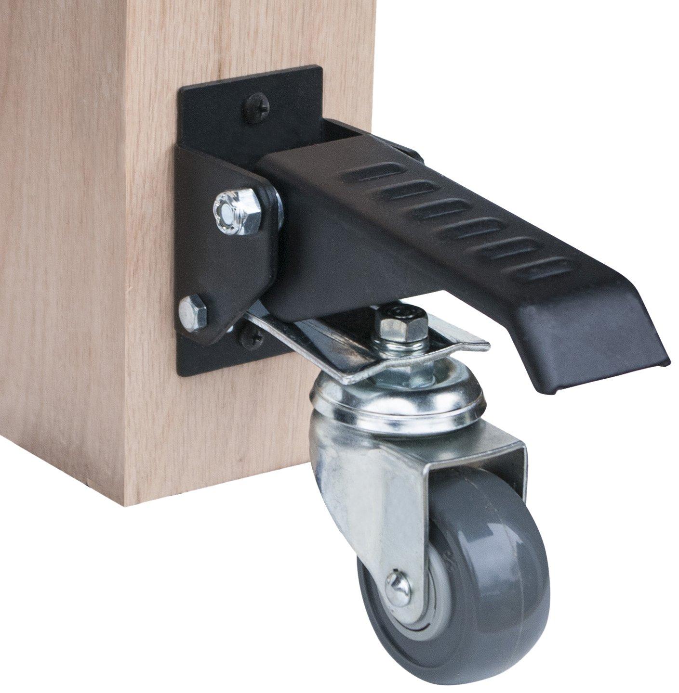 POWERTEC 17000 Workbench Caster Kit (Pack Of 4)