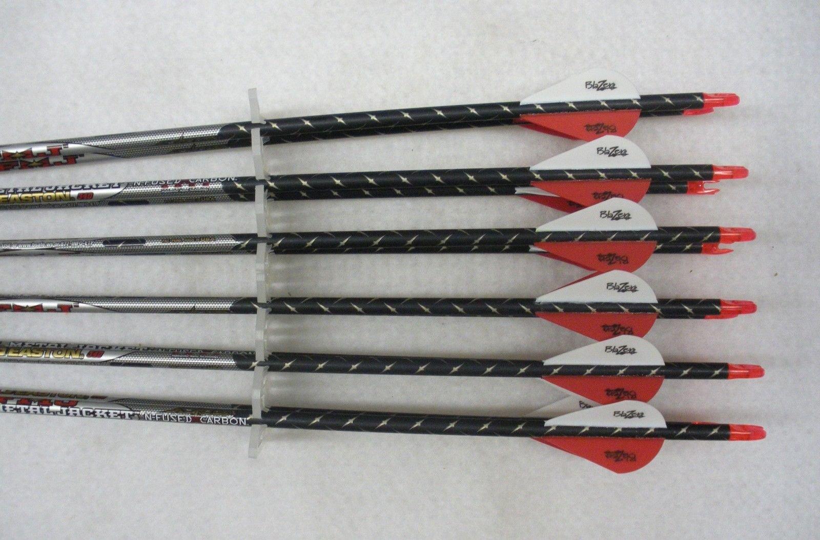 Easton ST Axis Full Metal Jacket Arrows w/Blazer Vanes 1 Dz.