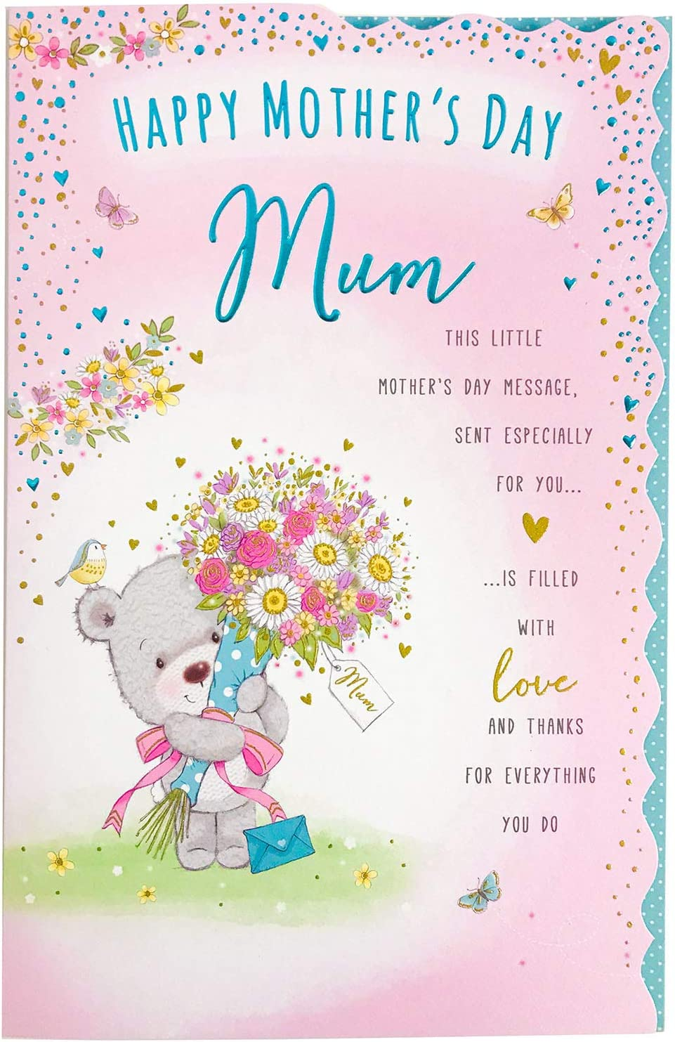 Wonderful Mum Luxury Me to You Bear Mothers Day Card