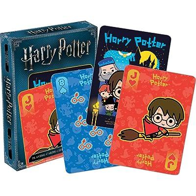 Aquarius Harry Potter Chibi Playing Cards: Toys & Games