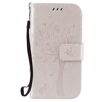 HUANGTAOLI Carcasa Cartera de Tapa Funda para Samsung Galaxy S3 i9300/S3 Neo i9301