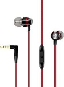Sennheiser CX 300S In Ear Headphone with One-Button Smart Remote - Red