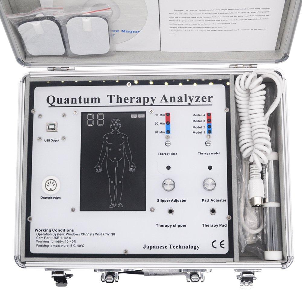 2018 Quantum Resonance Magnetic Body Analyzer 47 Reports Newest Generation 4.2.1 English & Spanish Software by Enjoymart (Image #2)