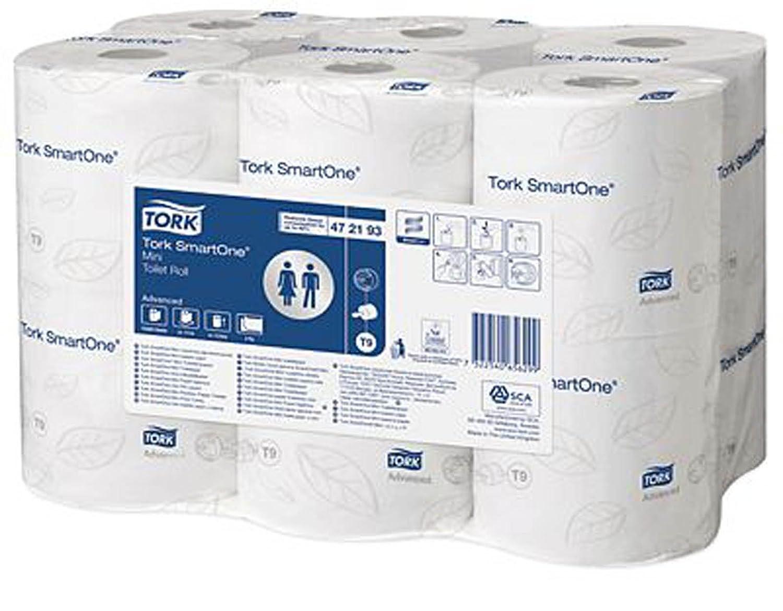 Tork SmartOne Mini Toilet Roll - Pack of 12 Rolls