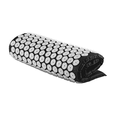 Capital Sports Repose Esterilla yantra para masaje y acupresión (Colchón 80x50cm, 275 círculos de 33 púas ABS, 9075 puntos de acu presión para ...