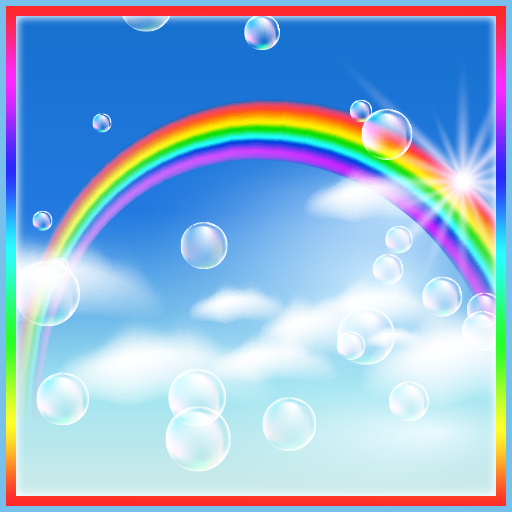 Rainbow Bubbles Live Wallpaper Amazonca Appstore For Android