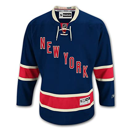 Amazon.com   New York Rangers Alternate Third Reebok Premier Jersey ... 273e1fd5a