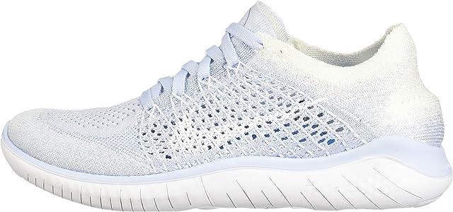 Nike Wmns Free RN Flyknit 2018, Zapatillas de Running para Mujer, Azul (Hydrogen Blue/Blue Void-White 402), 38.5 EU: Amazon.es: Zapatos y complementos