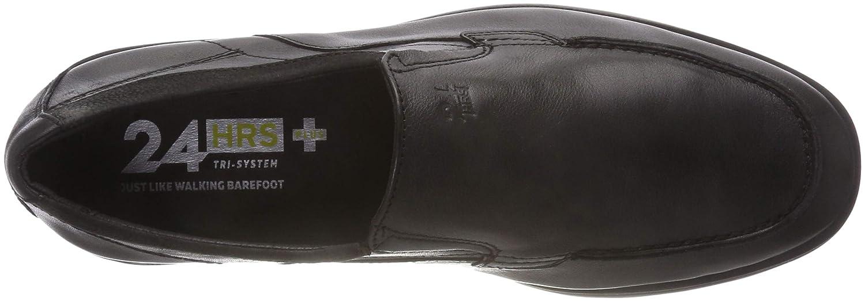 24 HORAS 10421, Mocasines para Hombre, (Negro 7), 43 EU: Amazon.es: Zapatos y complementos