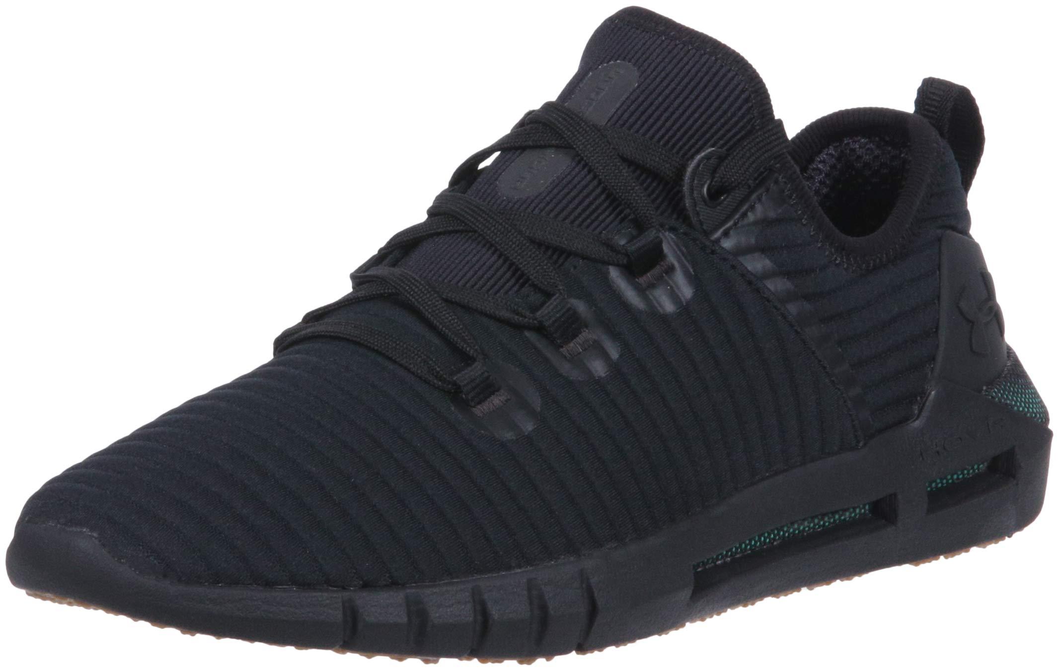 Under Armour Men's HOVR SLK LN Sneaker, Black (001)/Charcoal, 9.5