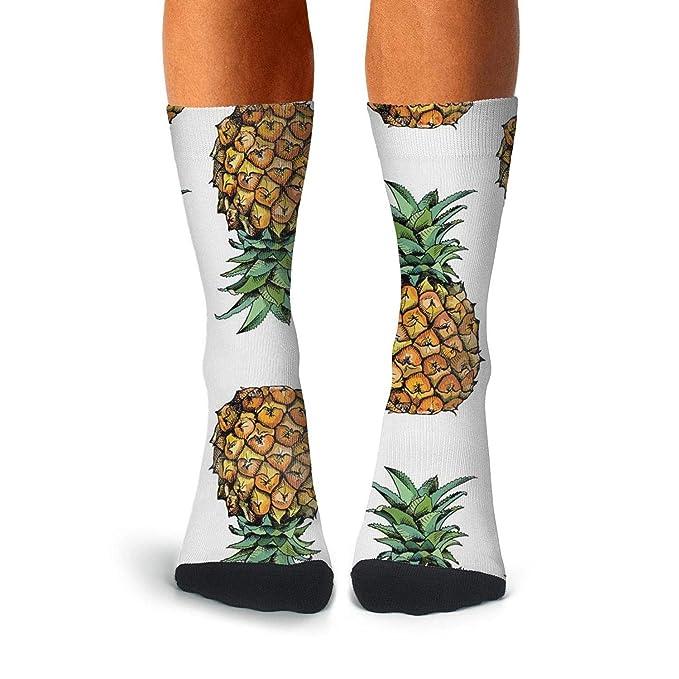 KCOSSH Real Girls Novelty Calf Socks Moisture Crew Sock For Mens Knee High Long Stockings