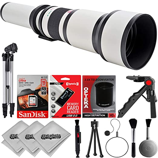 Review Opteka 650 to 2600mm