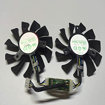 SHEAWA Ventilador de Repuesto para Tarjeta gráfica de 4 GB ...
