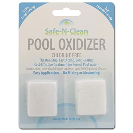 Amazon.com: safe-n-clean piscina oxidizer ™ gel-cap químicos ...
