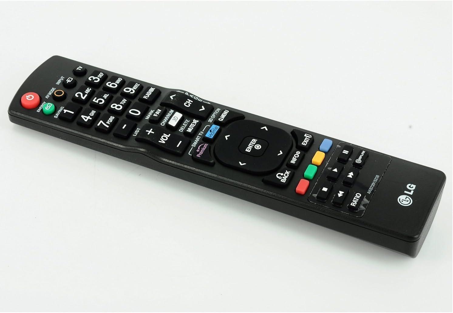 populsell Control Remoto akb72915238 Repuestos para LG 3d Smart TV 47lb5800 47lb6100 50lb6100 55lb6100ug 55ub8200 60lb6100 65lb6190 65ub9200 39lb5800ug 55lb6100 32lb580b 32lb5800 39lb5800 42lb5800 50lb5800 55lb5800: Amazon.es: Electrónica