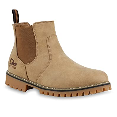 4ee09415b02209 Stiefelparadies Herren Chelsea Boots Leicht gefüttert Flandell  Amazon.de   Schuhe   Handtaschen