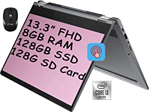 2021 Flagship Lenovo Flex 5 2 in 1 Chromebook Computer 13.3