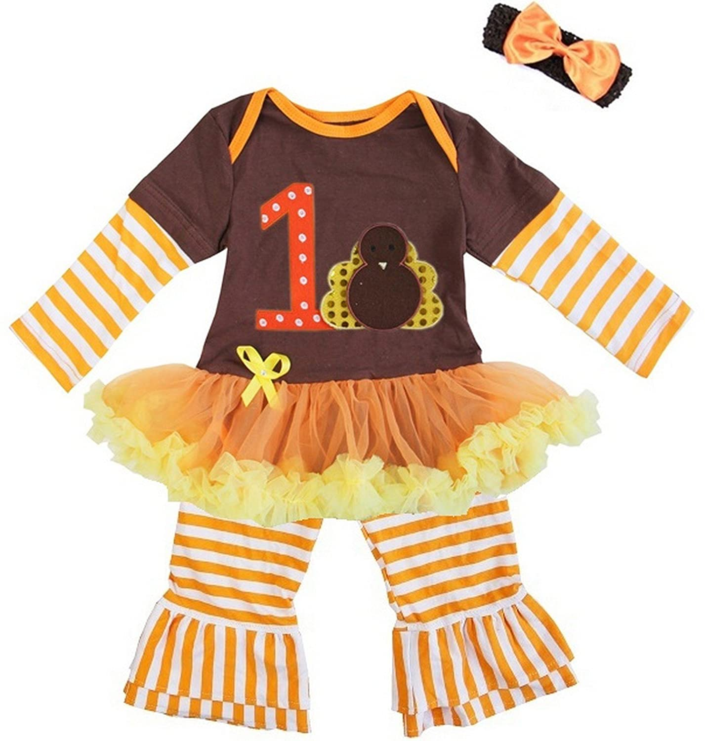 Baby Thanksgiving Bodysuit Tutu