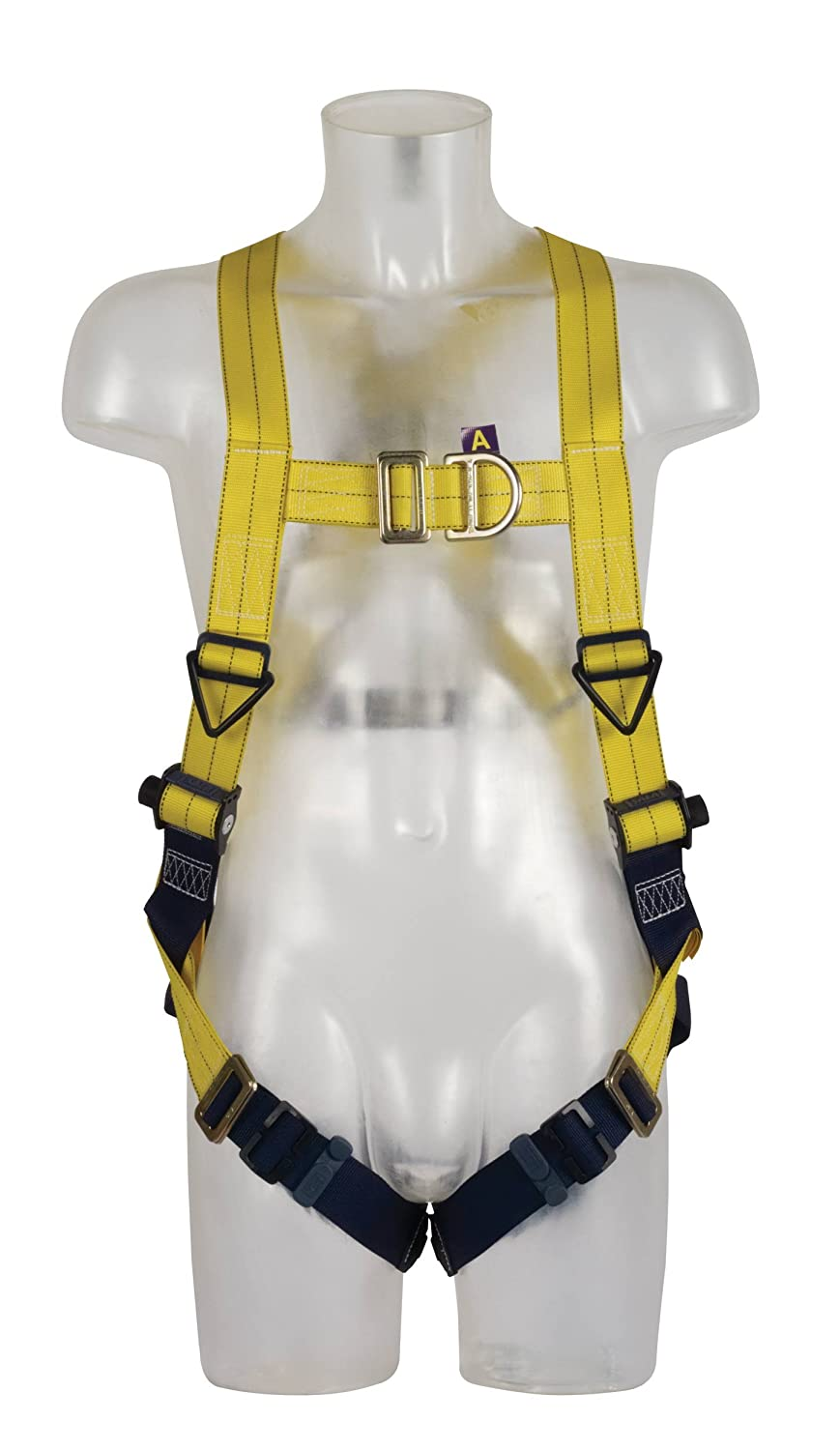DBI SALA Delta Harness with Front And Rear Fall Arrest Attachment Points, Size: Universal Capital Safety SALA Delta 1112900 H' ness