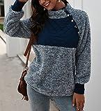 PRETTYGARDEN Women's Warm Long Sleeves Oblique