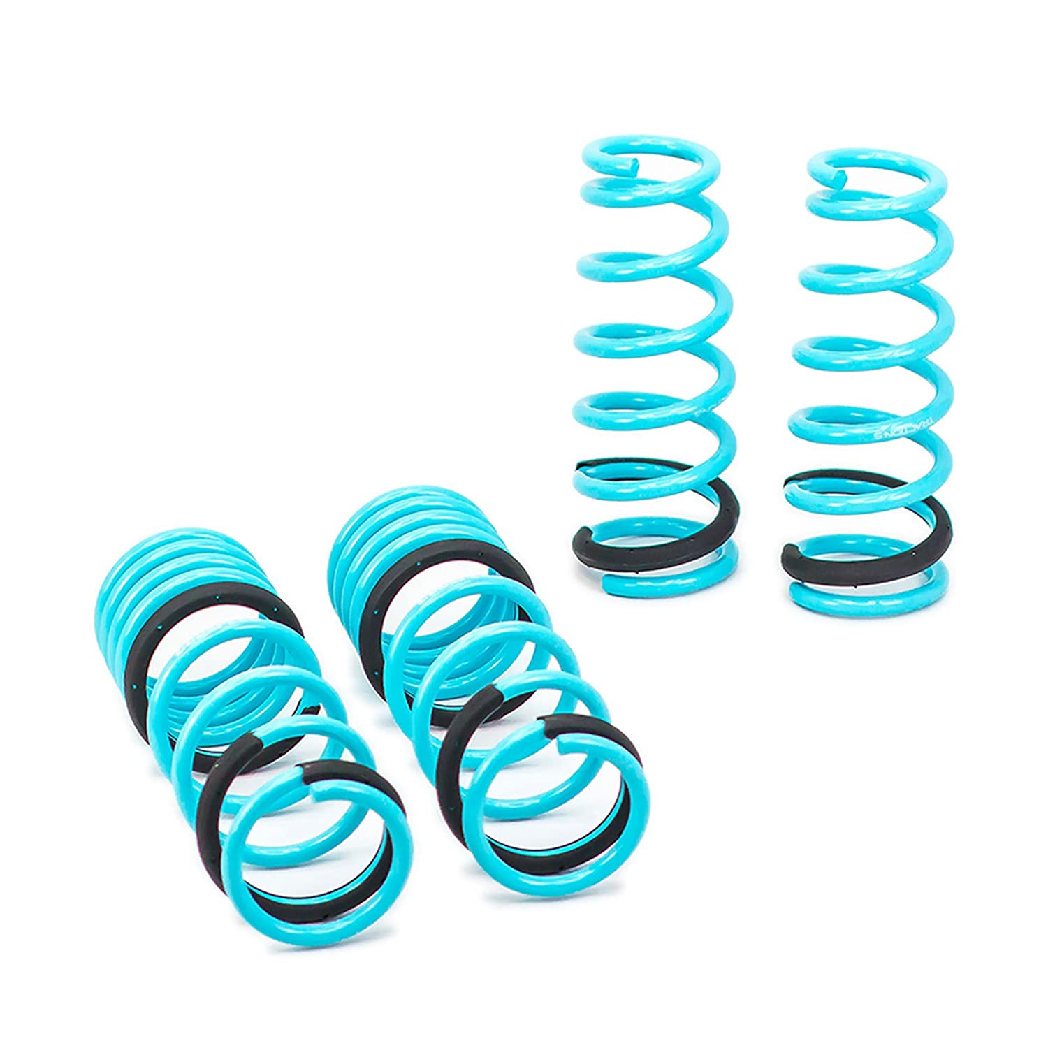 Godspeed LS-TS-HA-0003-B Traction-S Performance Lowering Springs Set of 4 Reduce Body Roll Improved Handling