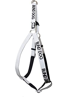 amazon blind dog dog has limited no sight white color coded DIY Devices for Blind Dogs dexil limited blind dog white color coded alert warning l xl non pull dog harness