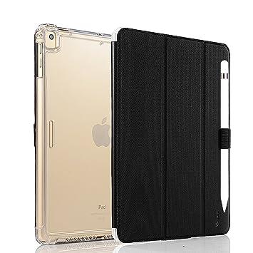 Vanctec para iPad Air Funda, iPad Air 2 Case, iPad Pro 9.7 Cover, nuevo iPad 2017 Folio, Smart Stand Protector Heavy Duty Rugged Impact Resistant ...