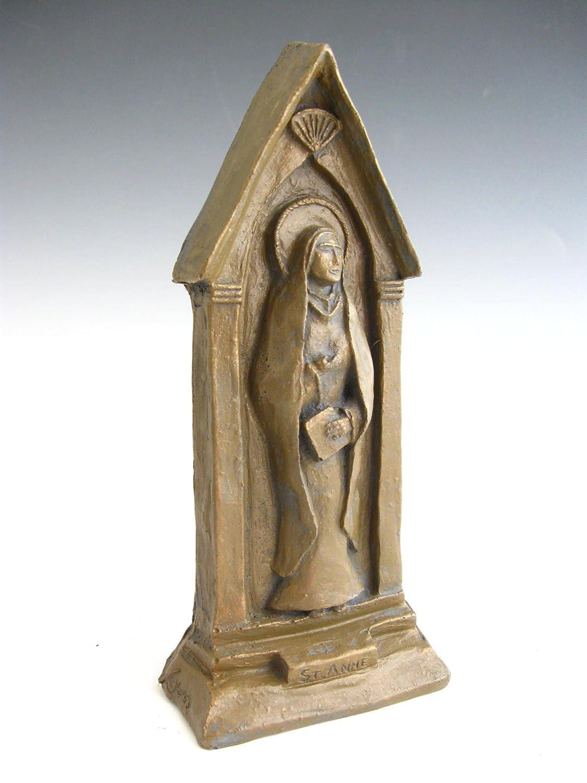 Amazon.com: St. Anne: Patron of Grandmothers, Handmade Statue: Handmade