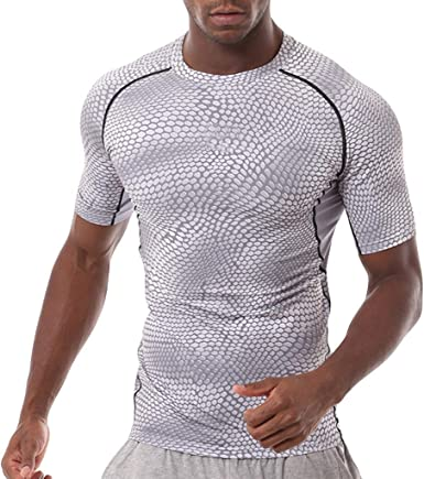 Camiseta Hombre Verano Manga Corta Gym Chándal de Hombres ...