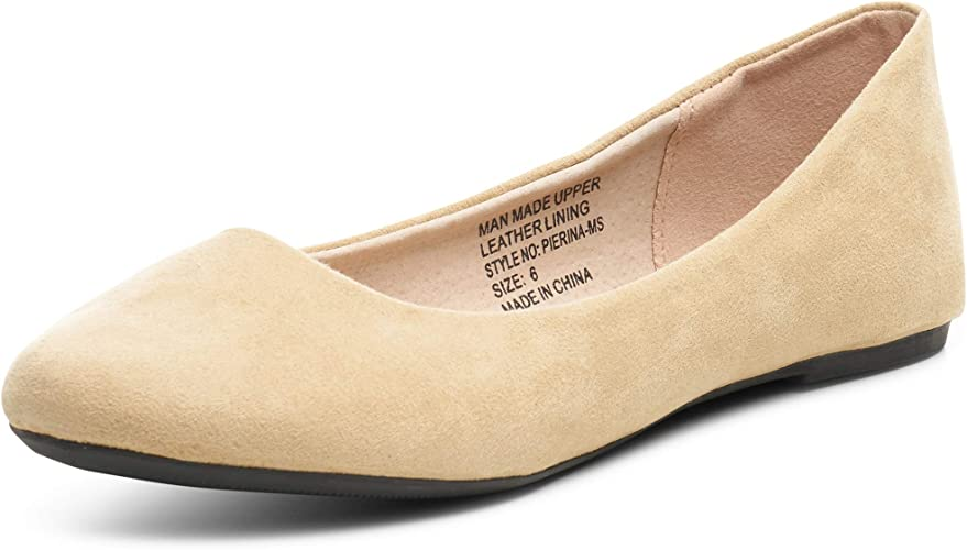 100% genuine huge discount available Amazon.com | Alpine Swiss Womens Pierina Round Toe Ballet Flats ...