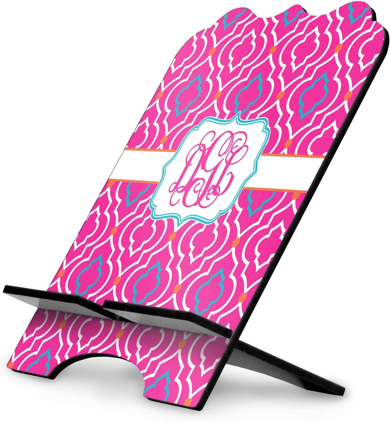 YouCustomizeIt Colorful Trellis Stylized Tablet Stand Personalized