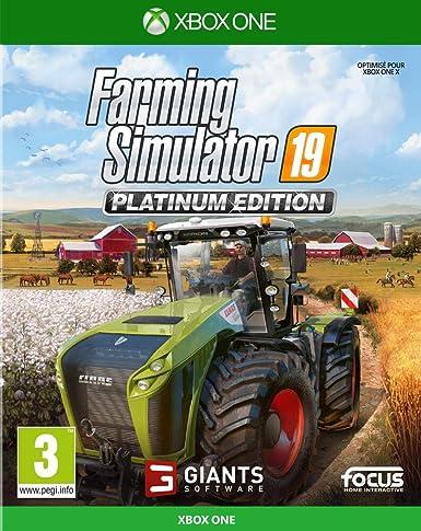 Farming Simulator 19 - Platinum Edition [Importación francesa]: Amazon.es: Videojuegos