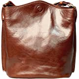 Maxwell Scott® Luxury Italian Leather Women's Tote Bucket Bag (Palermo)
