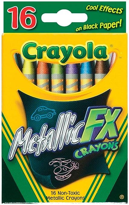 4 opinioni per Crayola Metallic FX pastelli-16/Pkg