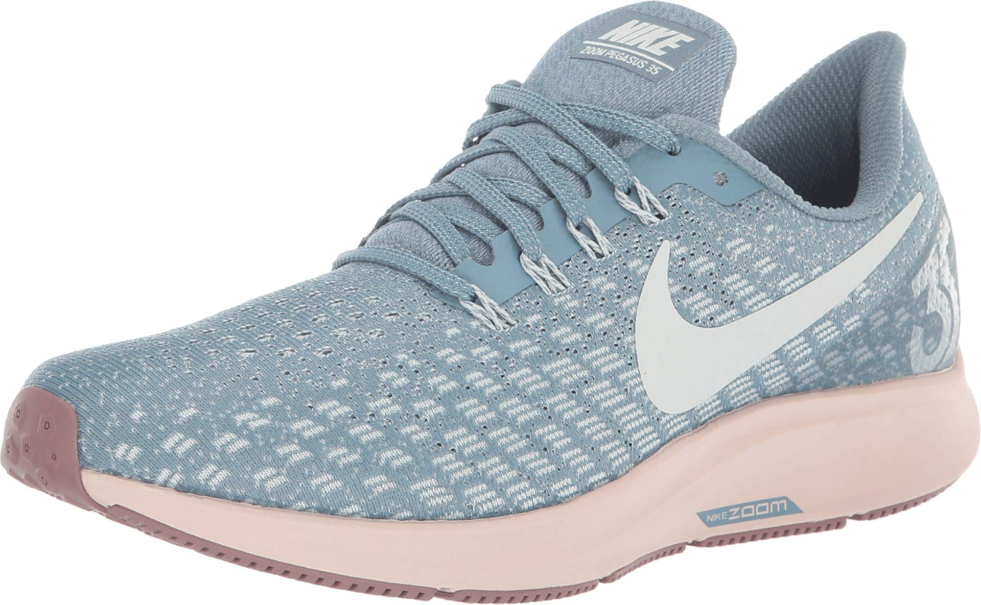 the best attitude 5cef8 99a23 Nike Women's Air Zoom Pegasus 35 Running Shoe Blue/Celestial Teal/Light  Silver (US 9)
