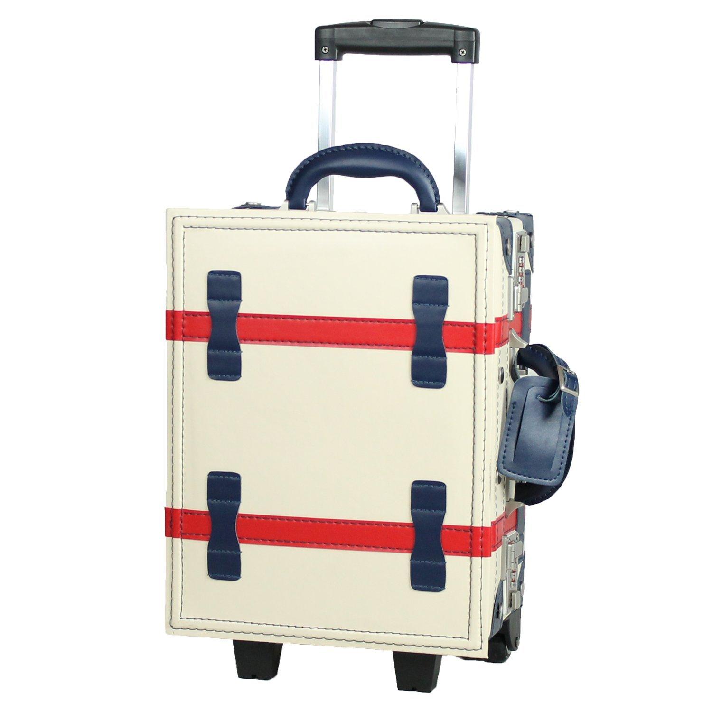 MOIERG(モアエルグ)子供用 キッズキャリー バッグ キャリーケース 機内持ち込み B07BYSTW49 S|マルチホワイト マルチホワイト S