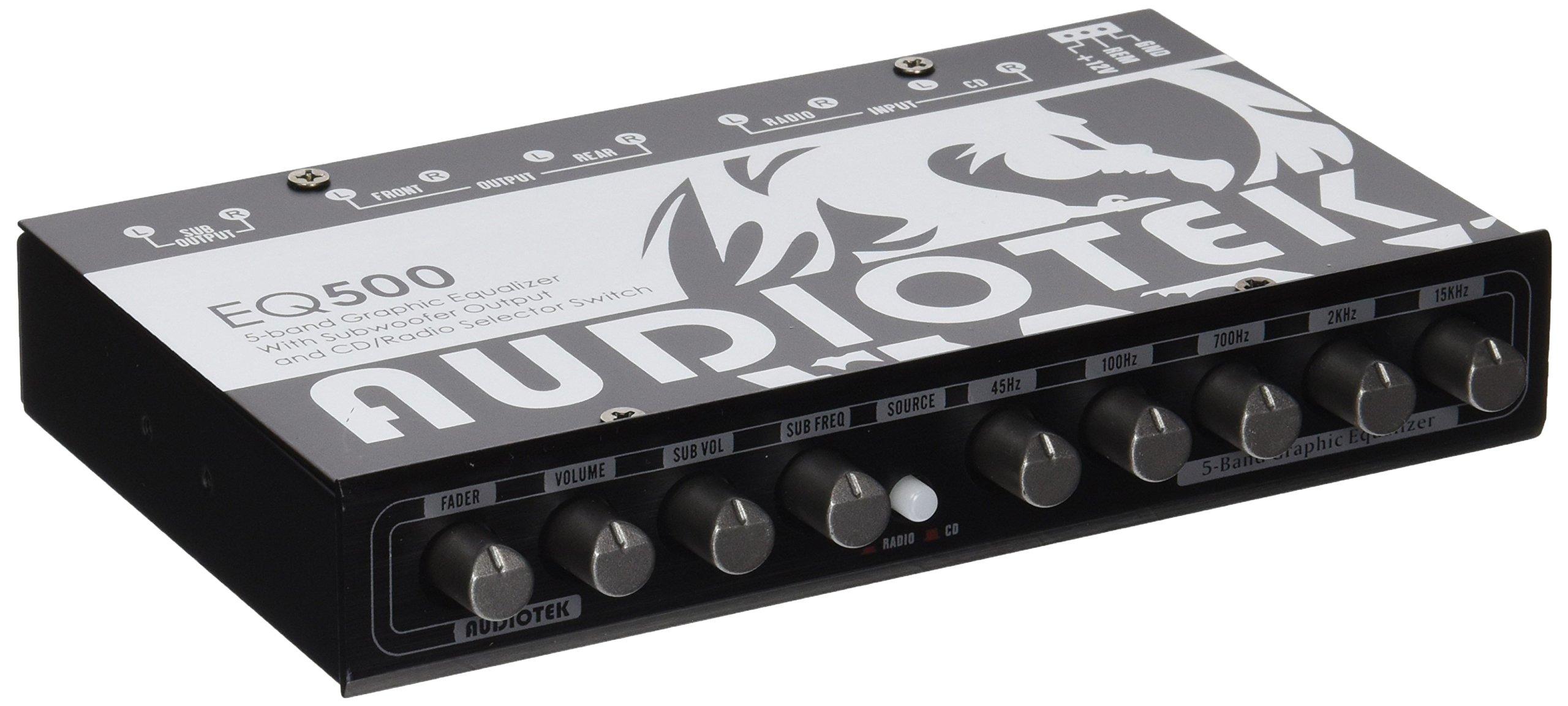 Audiotek High Performance Equalizer AT-EQ500