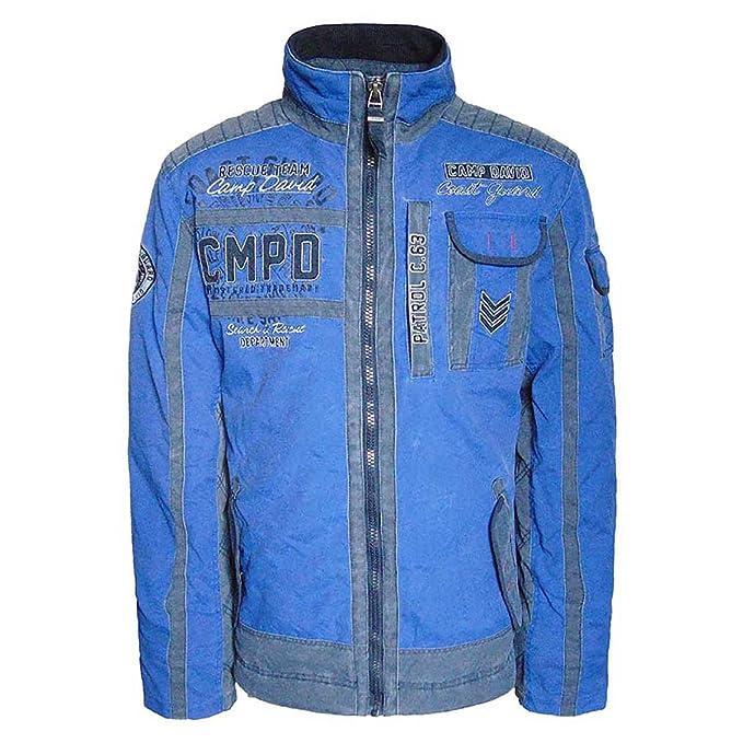 Camp David - Chaqueta - para hombre Boston Blue M/L: Amazon.es: Ropa y accesorios