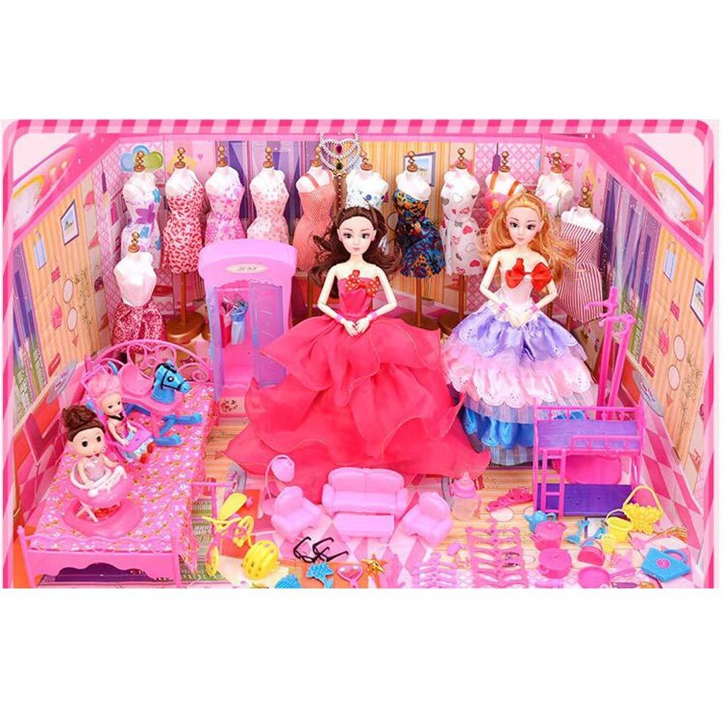 Amazon.es: Chica de moda Juego de ropa de muñeca para Barbie ...